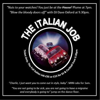 The Italian Job - Flyer