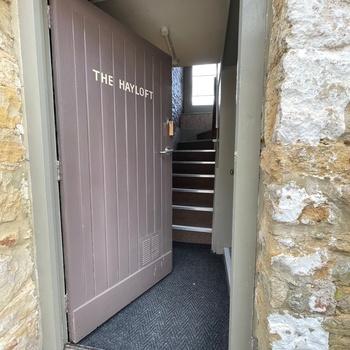 Hayloft - Front Door